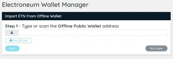 Import Offline Wallet with Electroneum - drhack.net